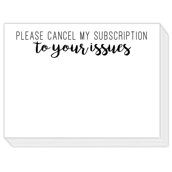 Rosanne Beck Slab Pad - Please Cancel My Subscription