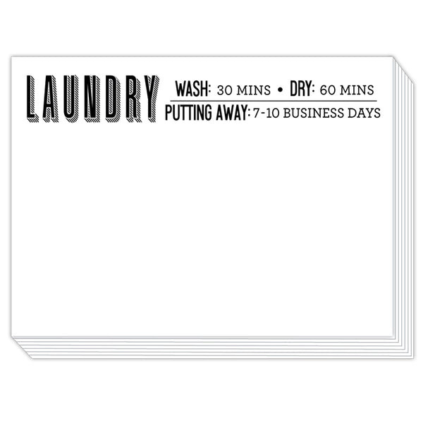 Rosanne Beck Slab Pad - Laundry: Wash, Dry, Put Away