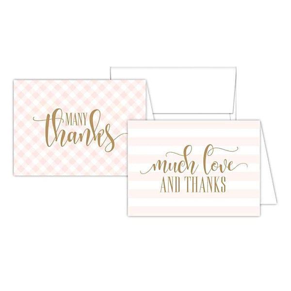 Rosanne Beck Notecard Set - Blush