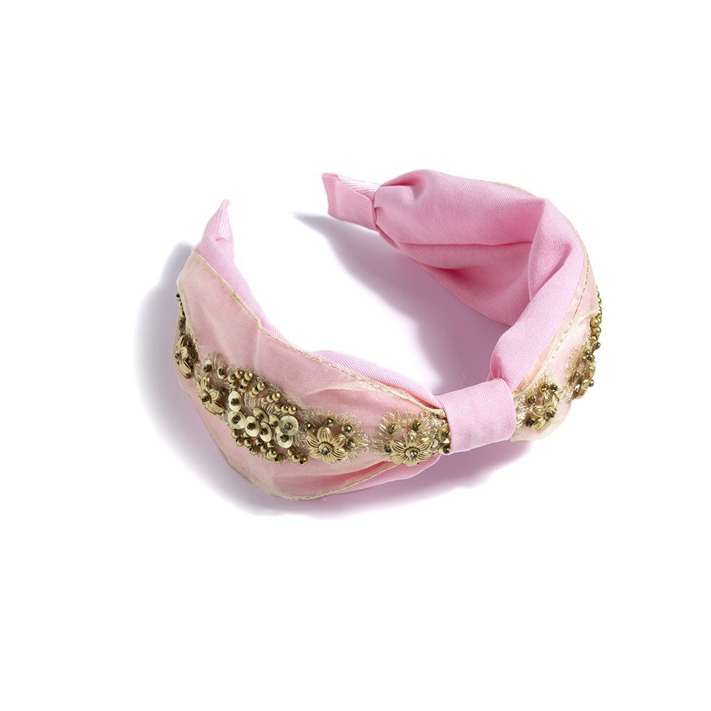 Embellished Headband - Pink