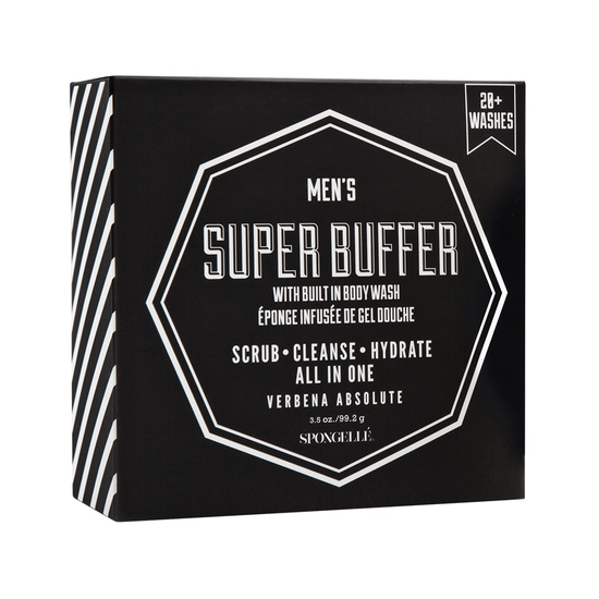 Spongelle Mens Super Buffer - Verbena Absolute