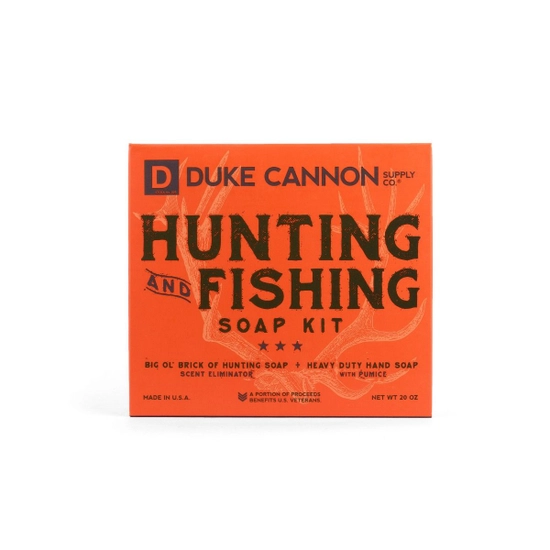 Duke Cannon Hunting + Fishing Soap Kit - Set of 2