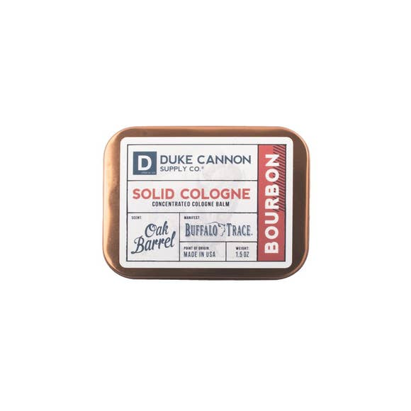 Duke Cannon Solid Cologne - Bourbon