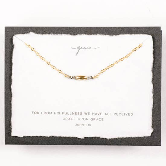 Dear Heart Design Grace Necklace - Gold
