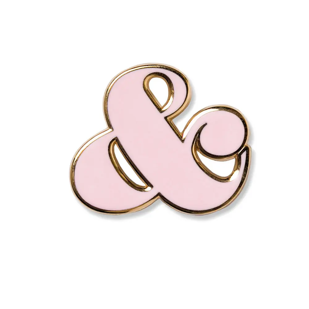 Ampersand Design Studio Enamel Pin - Ampersand