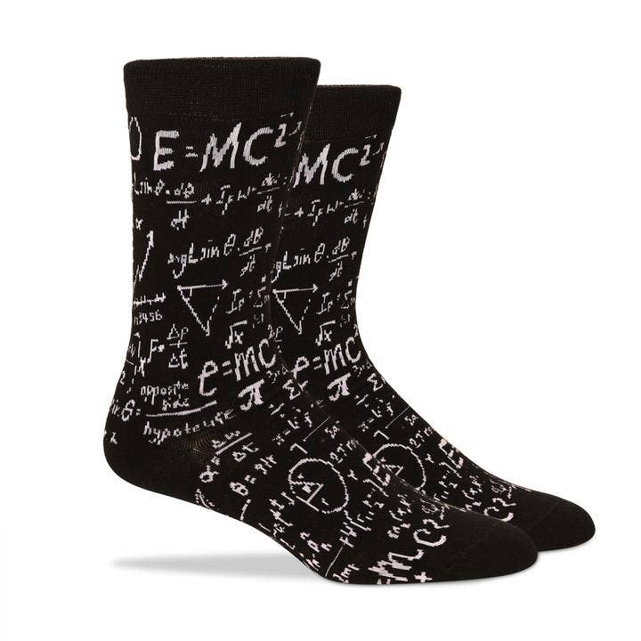 Patches & Pins Men's Socks - Science