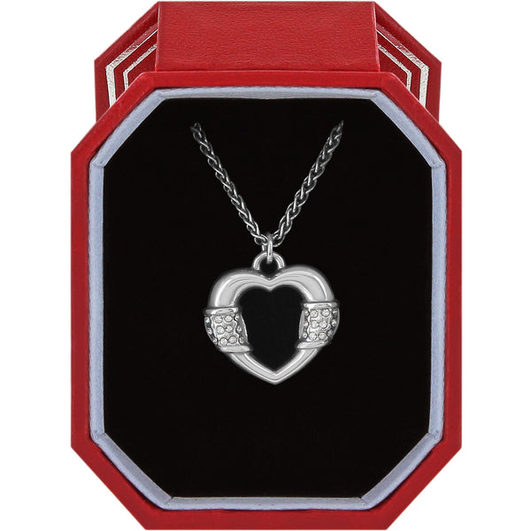 Brighton Meridian Linx Petite Heart Necklace Gift Box - JD1281