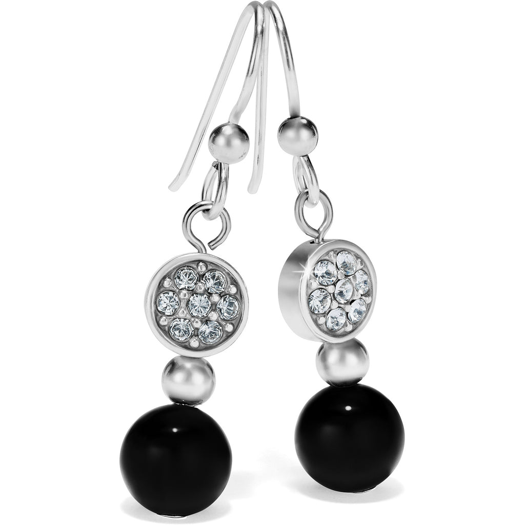 Brighton Meridian Prime Black Drop Earring - JA6412