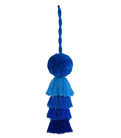 Handbag Tassel - Beachin' Blue