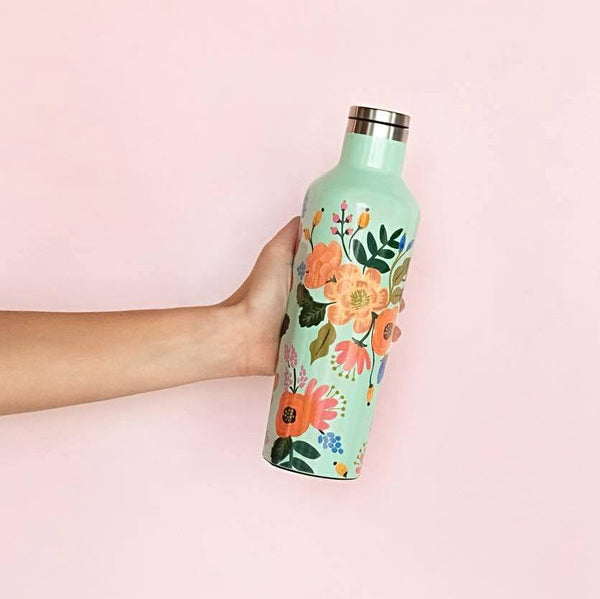 Rifle Paper Co. x Corkcicle 16oz Canteen - Lively Floral