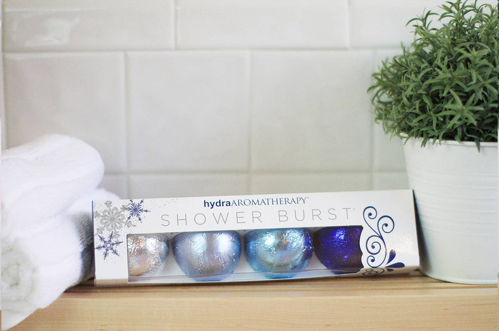 hydraAROMATHERAPY Shower Burst Set - Holiday Variety Pack