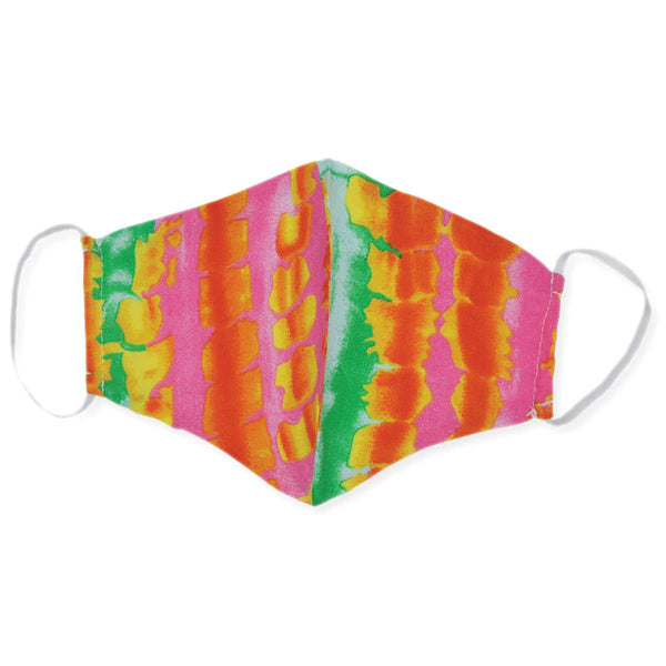 Stylish Face Mask - Multi Color Tie Dye