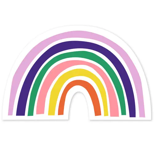 Ampersand Design Studio - Rainbow Sticker
