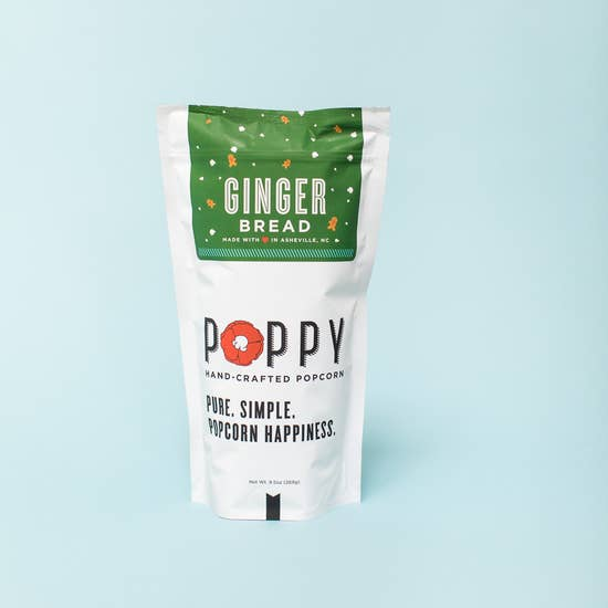 Poppy Handcrafted Popcorn Market Bag - Gingerbread