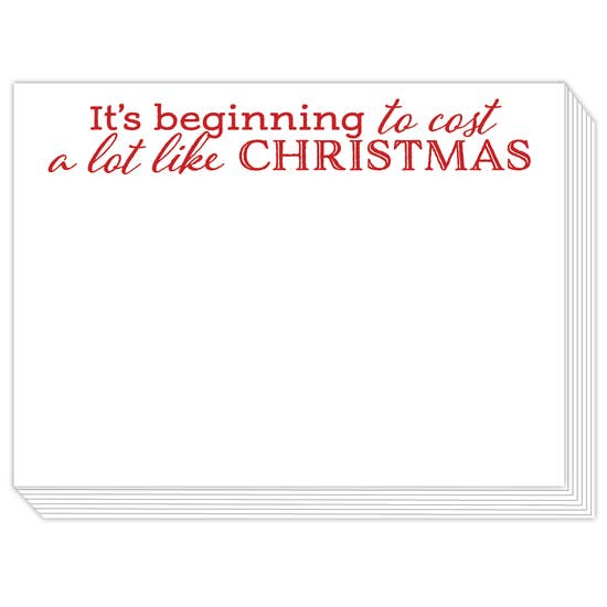 Rosanne Beck Slab Pad - Its Beginning to Cost a Lot Like Christmas