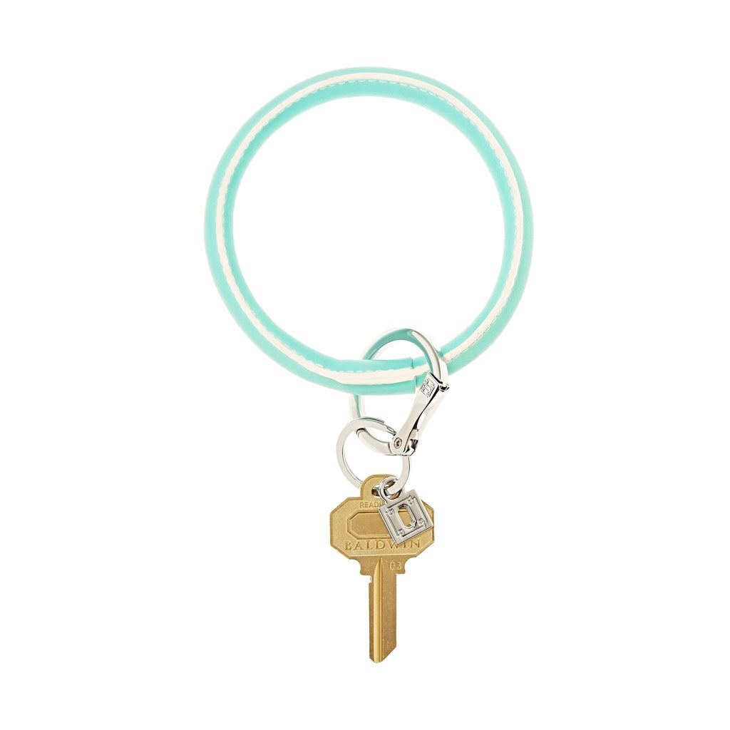 Big O Key Ring - In The Pool Leather