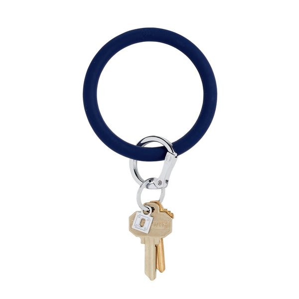 Big O Key Ring - Midnight Navy Silicone