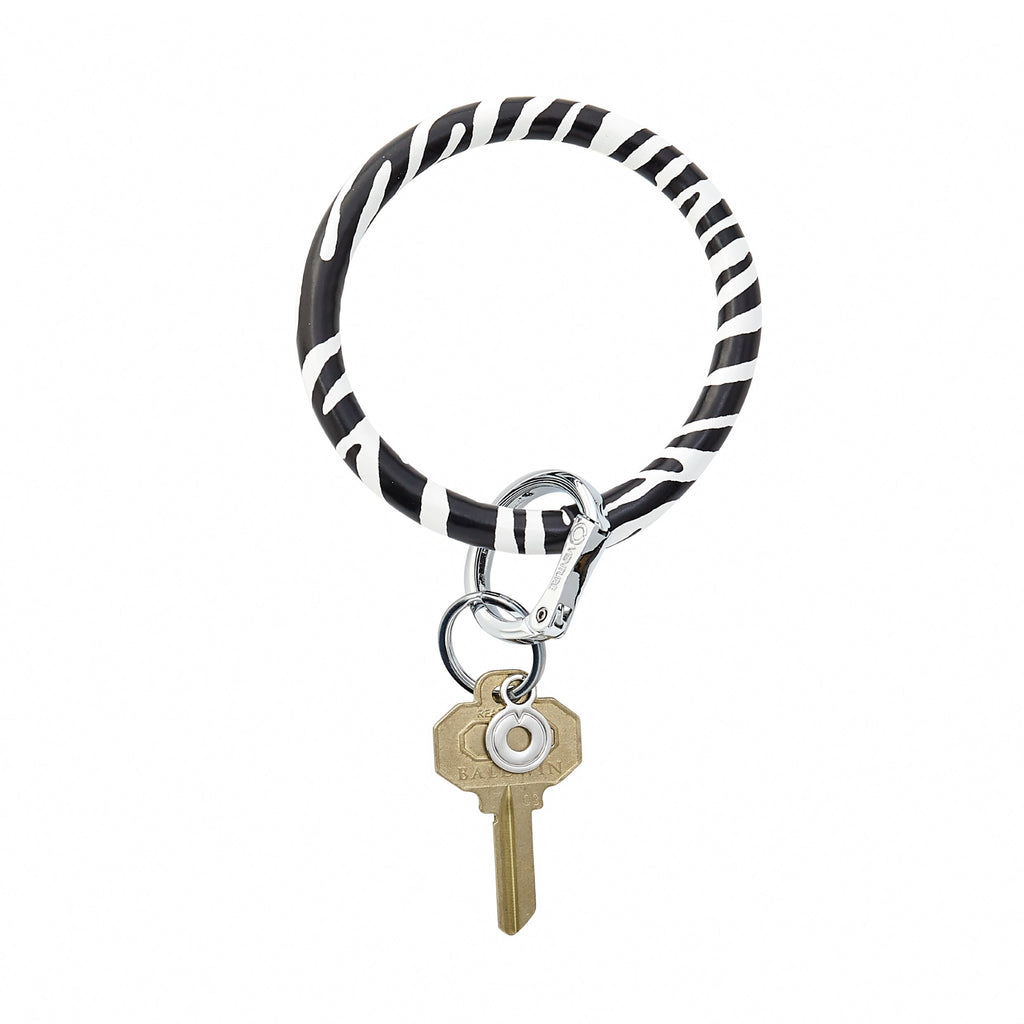 Copy of Big O Key Ring - Zebra Leather