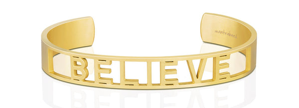 MantraBand Statement Bracelet - Believe