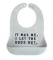 Bella Tunno Wonder Bib - I Let The Dogs Out