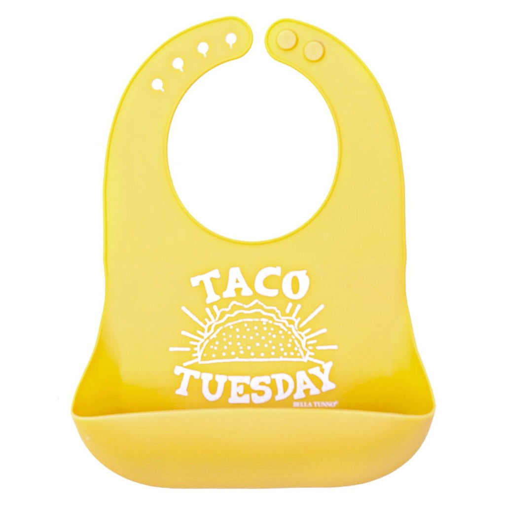 Bella Tunno Wonder Bib - Taco Tuesday