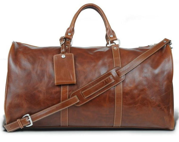Barrington Gifts - The Florentine Leather Belmont Cabin Bag