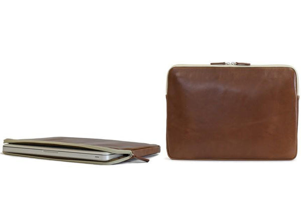 "Barrington Gifts - The Florentine Leather Buchanan 13"" Laptop Case"