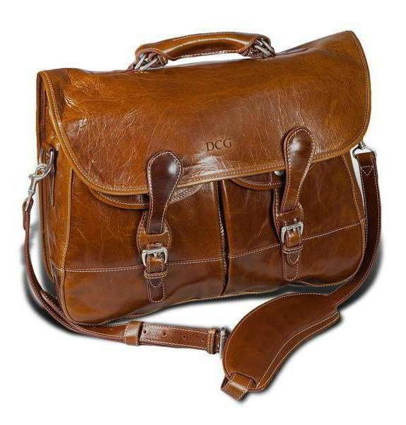Barrington Gifts - The Florentine Leather Burke & Wills Laptop Bag