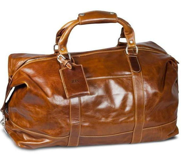 Barrington Gifts - The Florentine Leather Captain's Bag