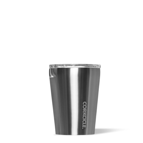Corkcicle 12oz Tumbler - Metallic Gunmetal