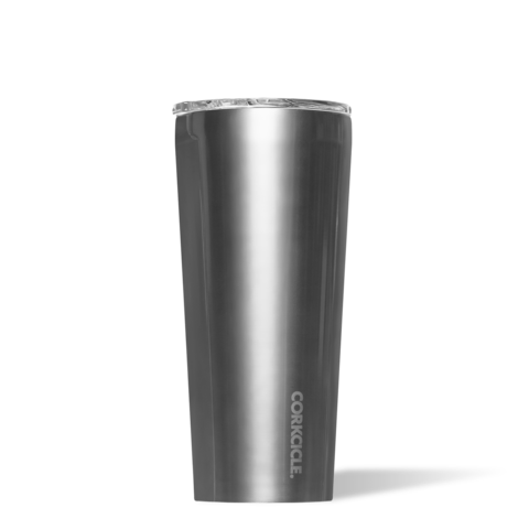 Corkcicle 24oz Tumbler - Metallic Gunmetal