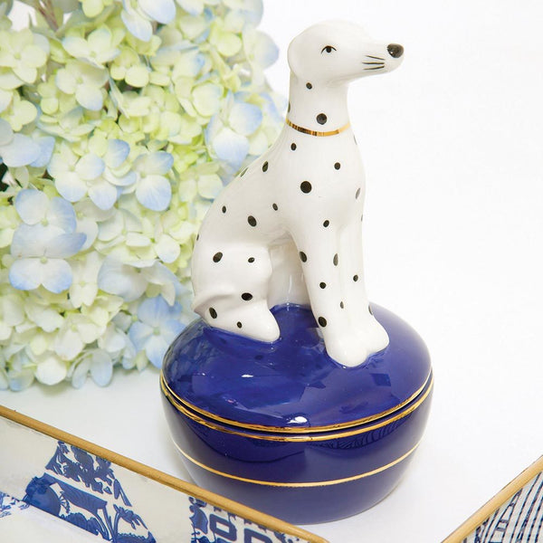 8 Oak Lane Trinket Box - Dalmatian