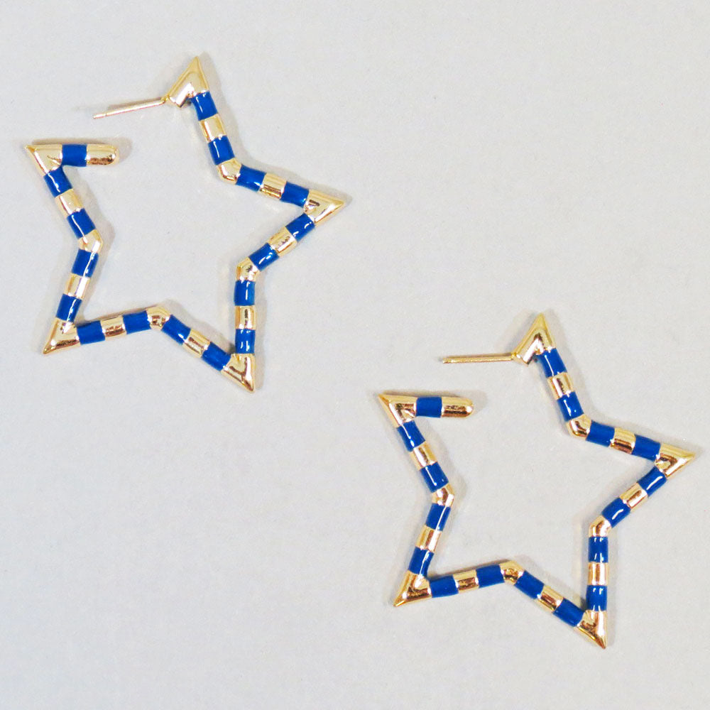 Caddie Star Earrings
