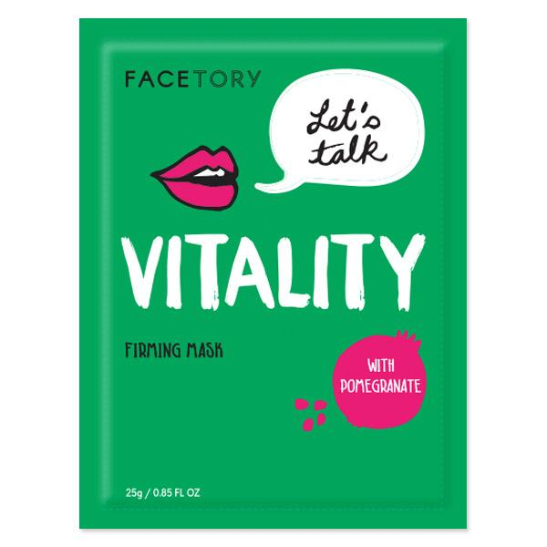 FaceTory Let's Talk Vitality Firming Sheet Mask