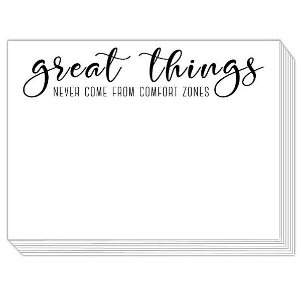 Rosanne Beck Slab Pad - Great Things / Comfort Zones
