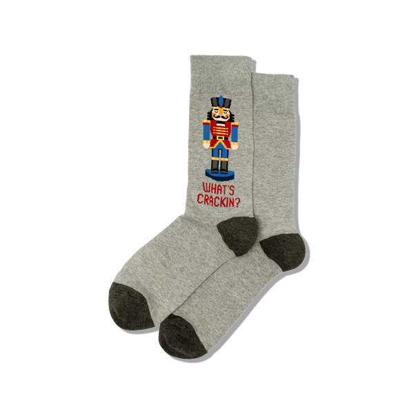 Hot Sox Men's Socks - Nutcracker
