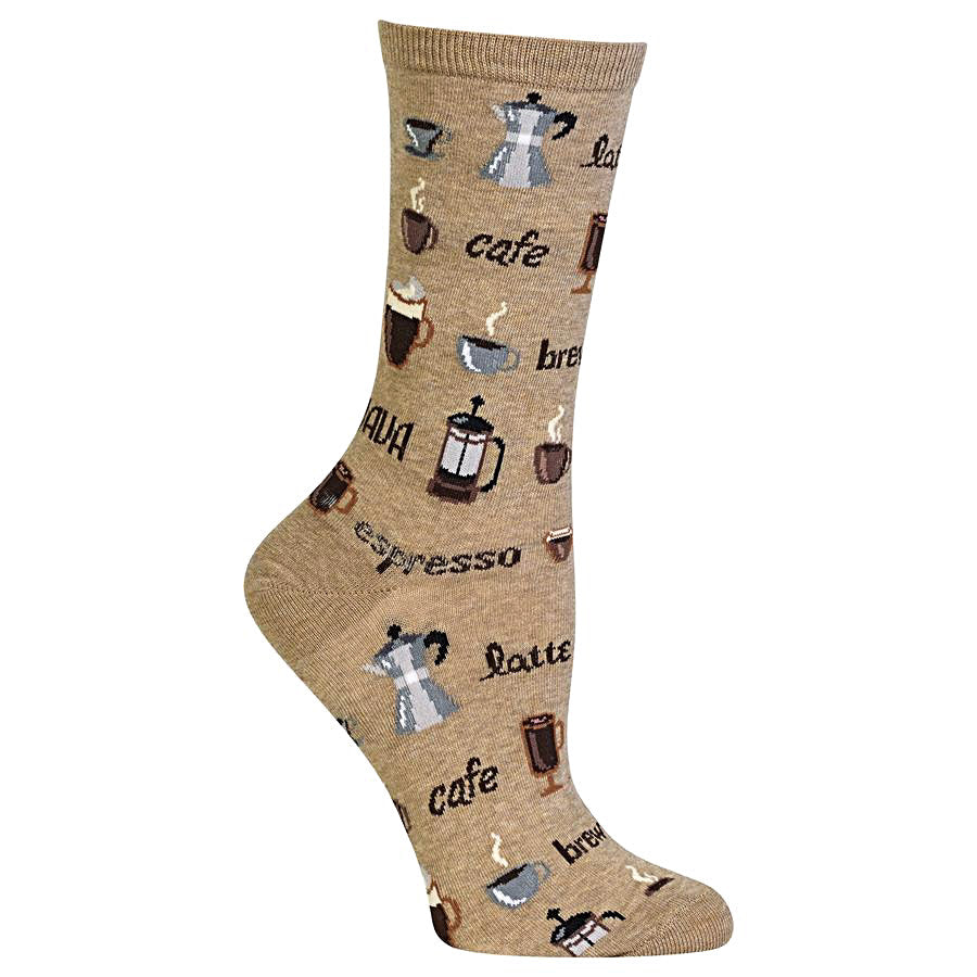 Hot Sox Women's Socks - Coffee