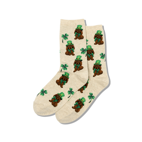 Hot Sox Women's Socks - Irish Pup