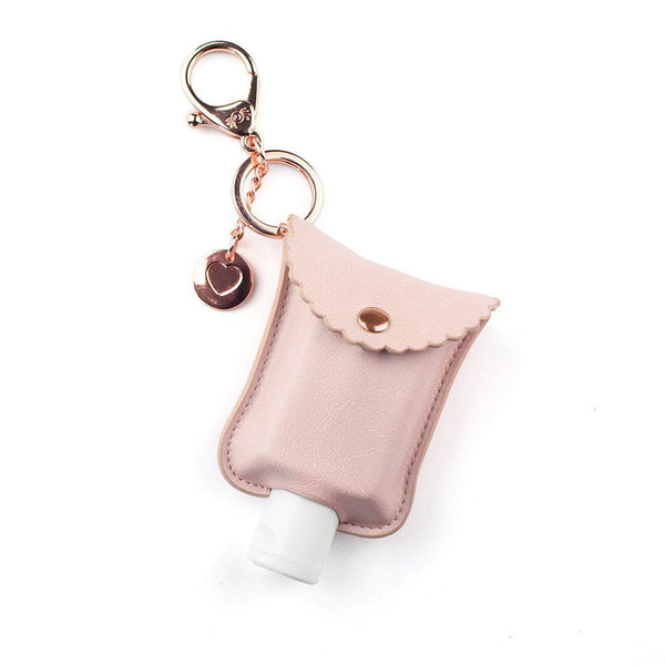 Itzy Ritzy Cute 'N Clean Hand Sanitizer Case - Blush