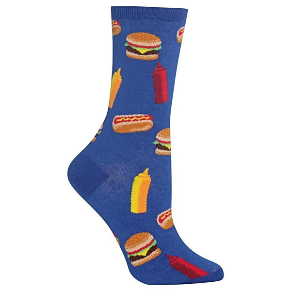 Hot Sox Women's Socks - BBQ Food