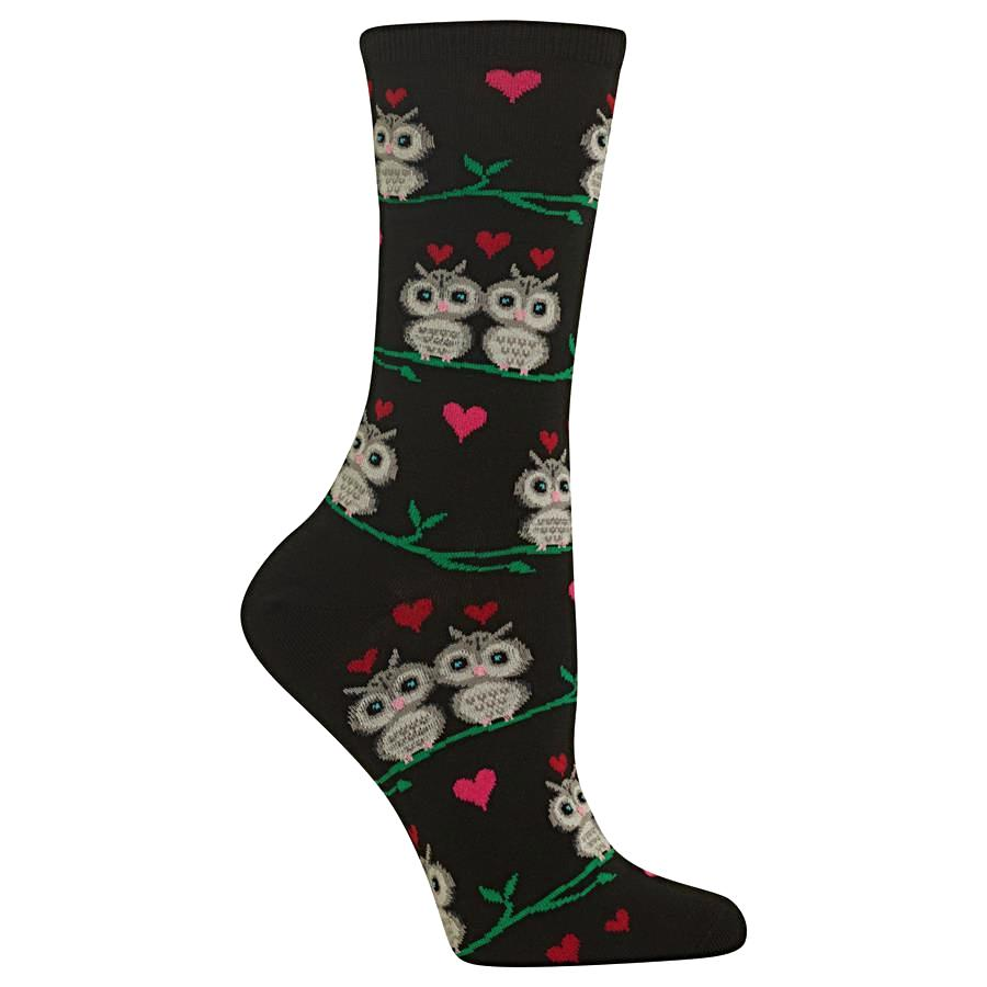 Hot Sox Women's Socks - Owl Love