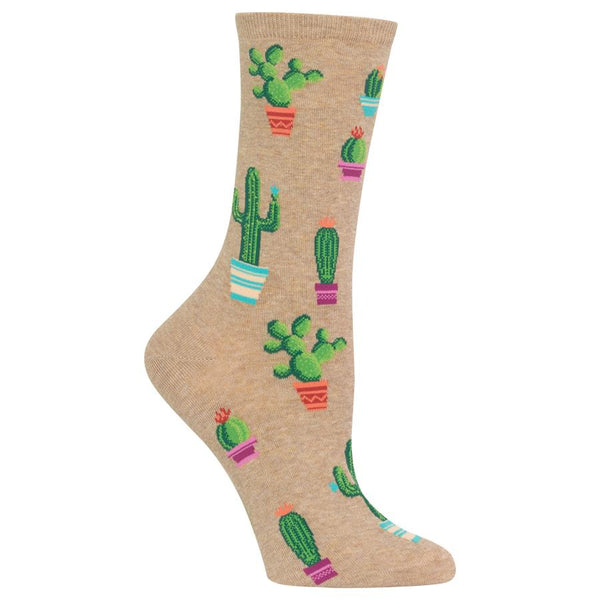 Hot Sox Women's Socks - Cactus and Succulent