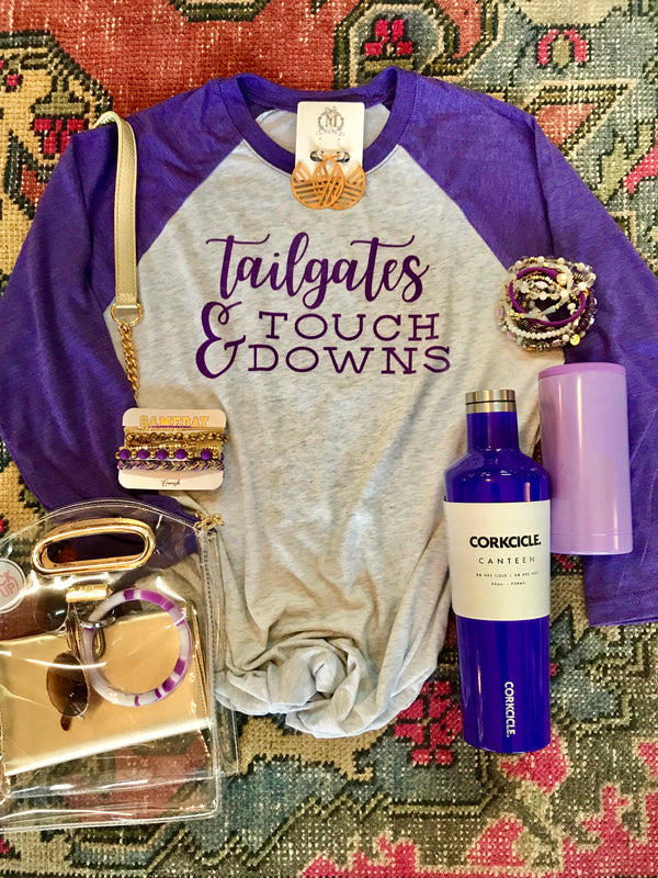 Macy May Graphic Tee - Tailgates & Touchdowns