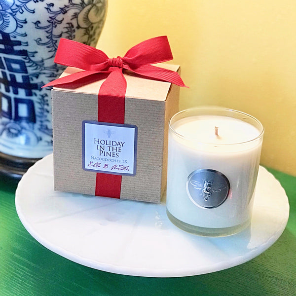 Ella B Neighborhood Candle - Holiday In The Pines