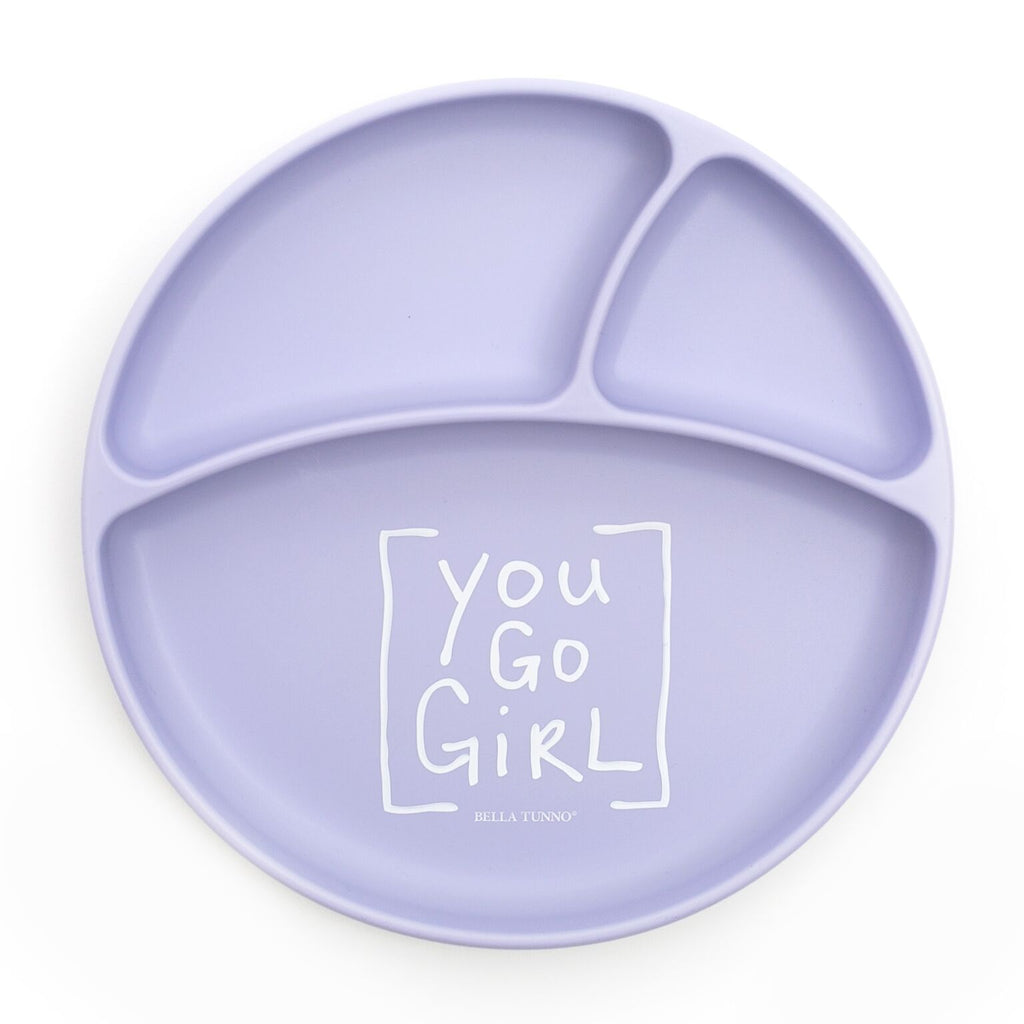 Bella Tunno Wonder Plate - You Go Girl