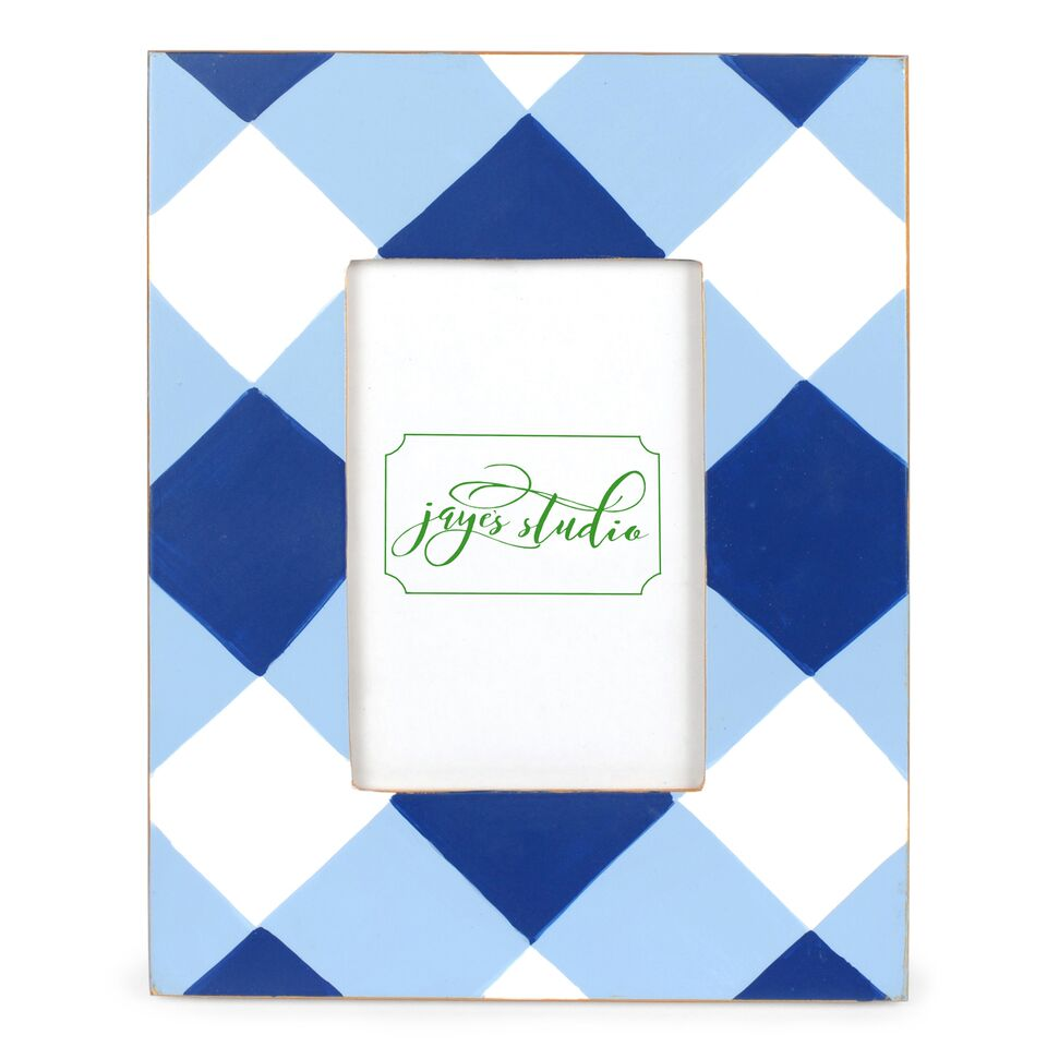 Jaye's Studio 4x6 Frame - Blue Buffalo Plaid
