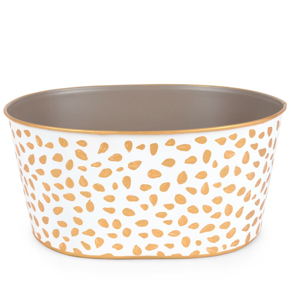Jaye's Studio Oval Tub - Spot On Gold