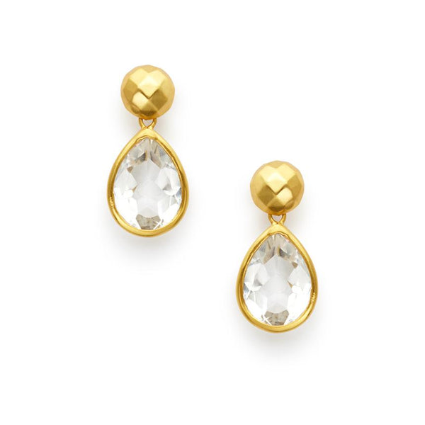 Julie Vos Catalina Midi Earring - Crystal