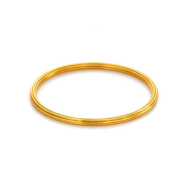 Julie Vos - Byzantine Fluted Stacking Bangle