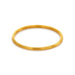 Julie Vos Byzantine Stacking Bangle - Fluted Gold
